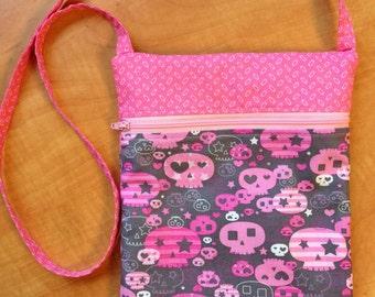 Girly skulls bag