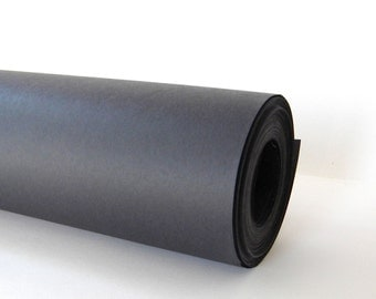 30 Feet x 2 Ft. Black Kraft Chalkboard Style Wrapping Paper Roll,