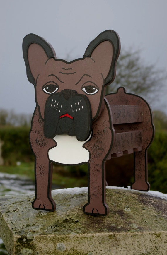 French Bulldog Planter Pet Pets Dog Dogs Garden Ornaments
