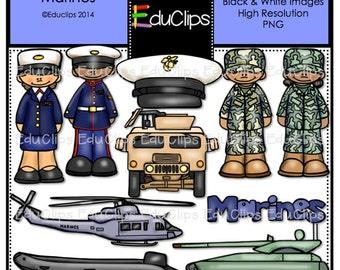 Marines Clip Art Bundle