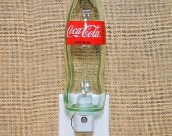 Coca Cola 8oz. Glass Bottle Night Light