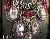 Steampunk Naughty Lady Necklace - Erotic - Victorian - Mature
