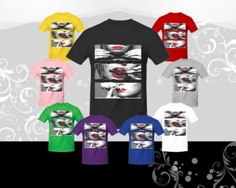 Rolling Blunt (Red lips) T-shirt