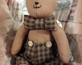 Country style Teddy bear