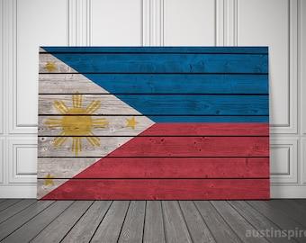Philippines Canvas Flag