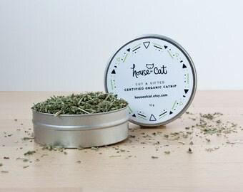Organic Catnip, Dried Catmint Herb, Strong and Potent, Nepeta Cataria, Cat Treat, Pet Gift, Organic Pet Treats