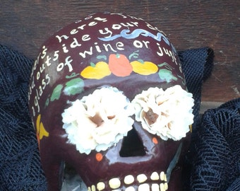 October Wine Day of the Dead Skull