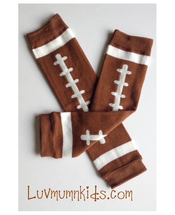 Football Brown Baby Toddler Arm Leg Warmers Boys By
