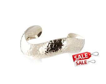 Silver Cuff Bracelet Silver Bracelet Cuff Brass Cuff Bracelet Brass Bracelet Cuff Wide Cuff Bracelet Silver Hammered Bracelet Cuff 150