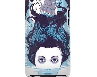 Song Of The Siren Art Print iPod Touch 4 4G 4th Gen Case Retro Sailor Nautical Mythical