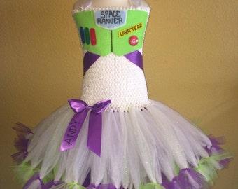 Buzz lightyear tutu dress