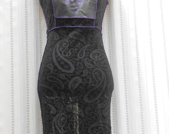 SteamPunk/Vintage BNWT Sheer Net Dress / Steampunk / Goth / Theatre