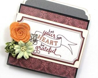 Envelope Flip Book Mini Album