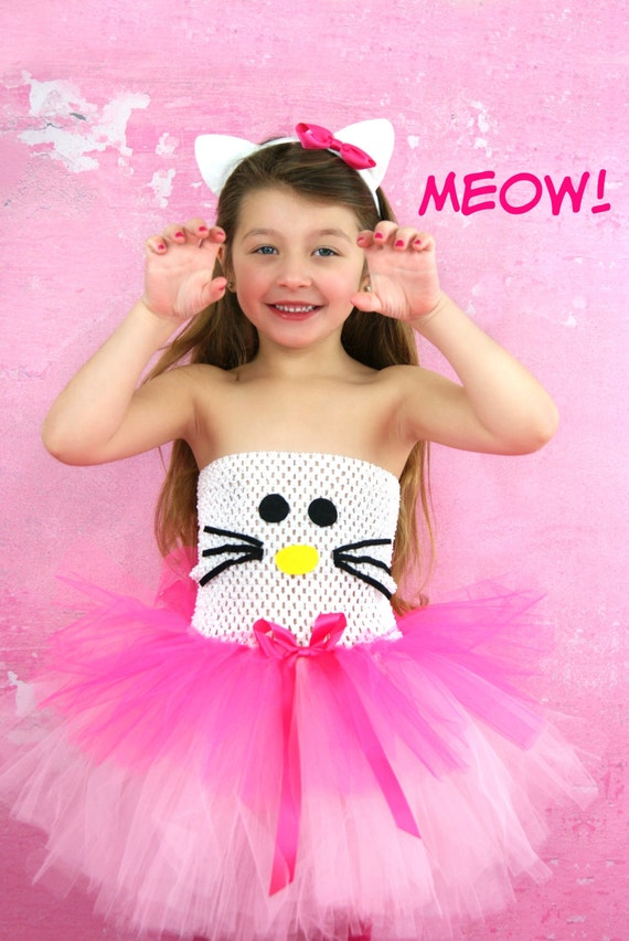 Hello Kitty Tutu Dresses available via OhMyTutuCuteByDeanna