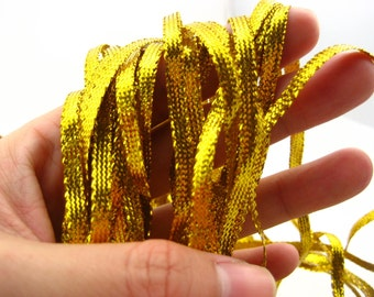 20ms of gold cushions curtain upholstery Edging Trimming craft clothing trimming String