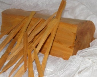 Indian Sandalwood Heartwood Sticks - Santalum Album (Mysore)  for Prayer * Meditation * Protection * Encouragement