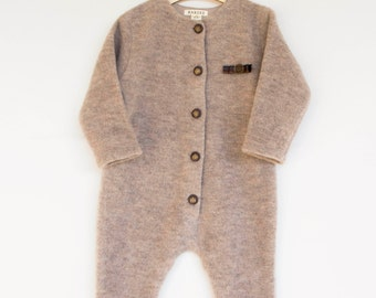 WINTER FINAL SALE/Merino wool jumpsuit/ Baby merino wool overall/ Little  jumpsuit