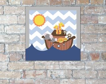 Noah's Ark Cupcake Toppers {Digital Item}