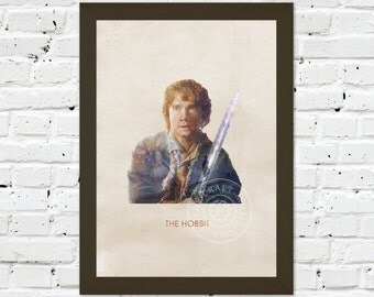 0092 The Hobbit Poster A3 Art Print – Any Size Available