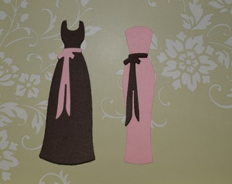 Bridesmaid Dress Die Cuts