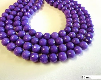 Natural gemstone Jade bead