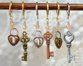 Key to my Heart Crochet Stitch Markers