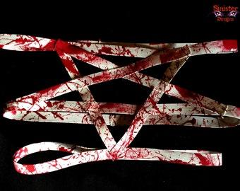 Bathory's Blood Splattered Cage Garter