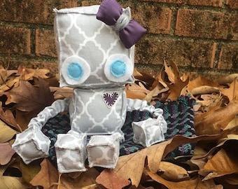 Custom MADE TO ORDER Robot Plush