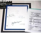 "Ray Donovan Pilot Episode Script and Call Sheet for ""Same Exactly"" Episode TV Script Autographed: Liev Schreiber, Jon Voight, Elliott Gould"