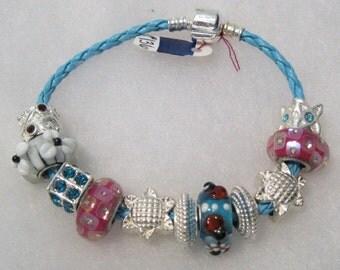 136 - CLEARANCE - Ladybug Bracelet