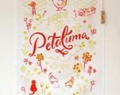 Tea Towel Pride of Petaluma