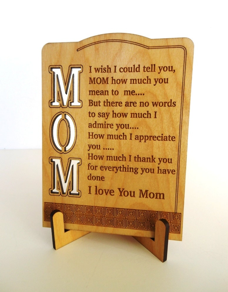 Mom Custom Christmas Gift Mother Appreciation Gift Gift To