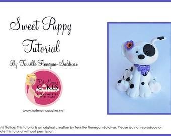 Sweet Puppy Tutorial (PDF) Fondant