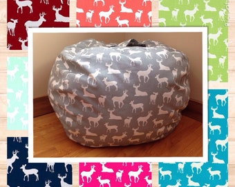 Bean Bag Chair Cover DEER Readers Nest COVER ONLY Beanbag