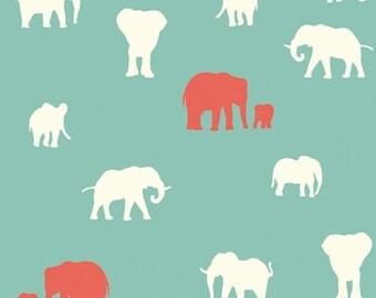 Serengeti - The Herd Pool - Jay-Cyn Designs - Birch Fabrics (SG-10-Pool) - Organic Cotton