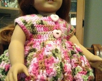 American Girl Doll crochet top