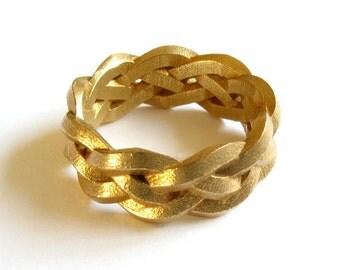 Four Strand Braid Ring