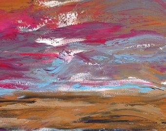 Abstract multi color Painting