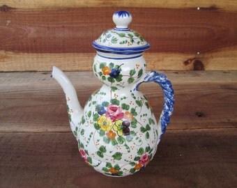 Cute Flowered Teapot