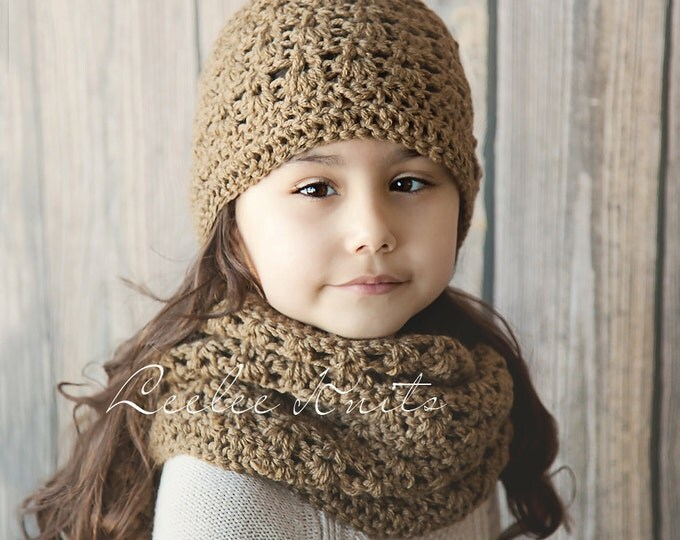 Pattern - Perfect Crochet Winter Scarf and Hat Pattern