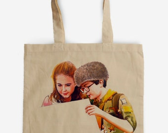 Sam & Suzy  Moonrise Kingdom Tote Bag - A Tribute to Wes Anderson