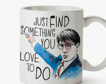 Max Fisher Rushmore  Mug - Wes Anderson Tribute