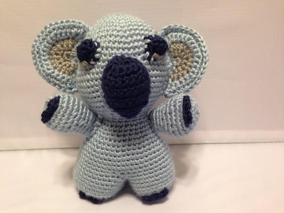 Amigurumi Stuffed Animals : Koala Bear Stuffed Animal Amigurumi