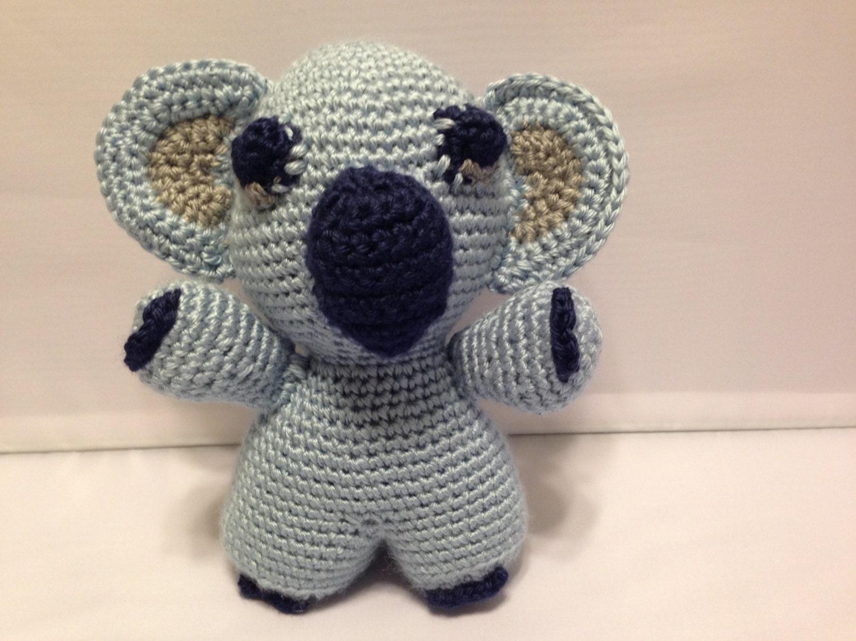 Koala Amigurumi Nose : Koala Bear Stuffed Animal Amigurumi