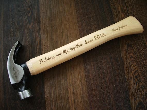 personalisierte hammer geschenk f r ihn vater von. Black Bedroom Furniture Sets. Home Design Ideas