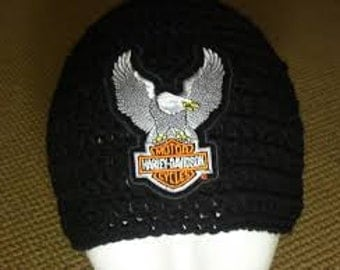 Adult Beanie with patch