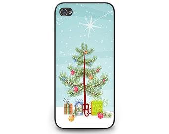 Christmas Phone Case - Christmas Tree iPhone 6 Phone Case - Christmas Gift iPhone 5c Phone Case for iPhone 4s Christmas Presents iPhone 5s