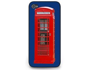 London Phone Booth Phone Case - London Phone Booth iPhone Case - British Phone Booth iPhone 6 Case - English Phone Booth iPhone 5c Case