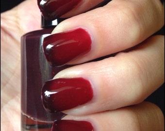 Vampy thermal 5 free, vegan nail polish