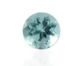 Green Apatite Loose Gemstone Round Cut 1A Quality 5mm TGW 0.40 cts.